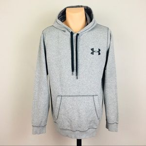 Nike Pullover Hoodie with Pockets Gray Men's M